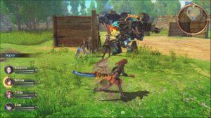 Valkyria Revolution - combat