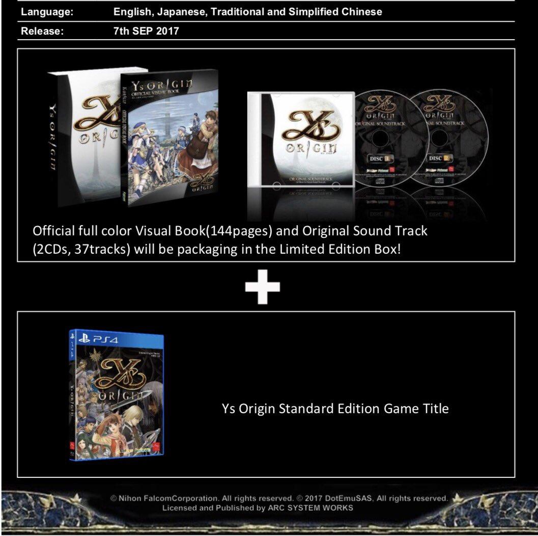 YS Origin - édition limitée