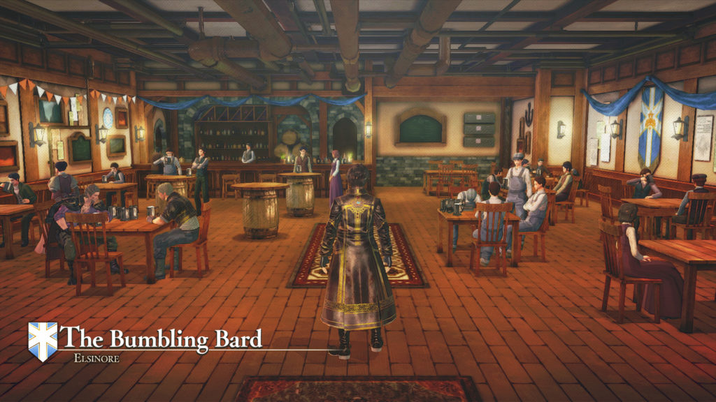 Valkyria Revolution - bar