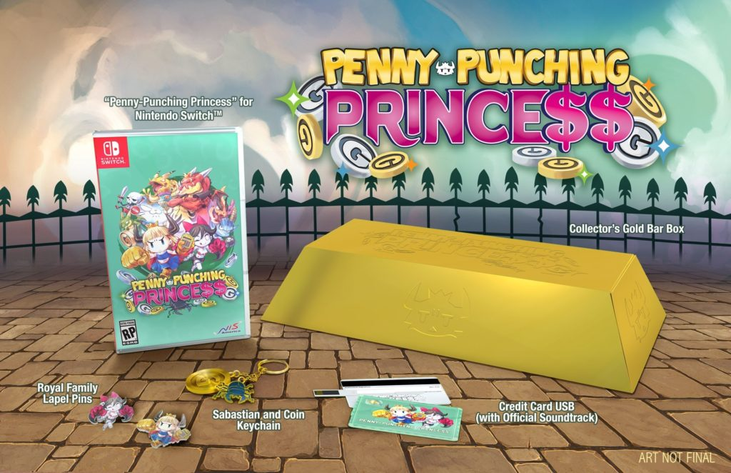 Penny-Punching Princess - collector