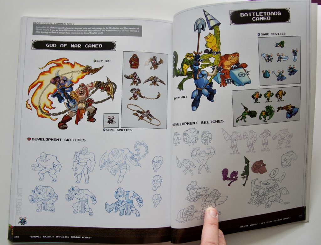 Shovel Knight Official Design Works - 05