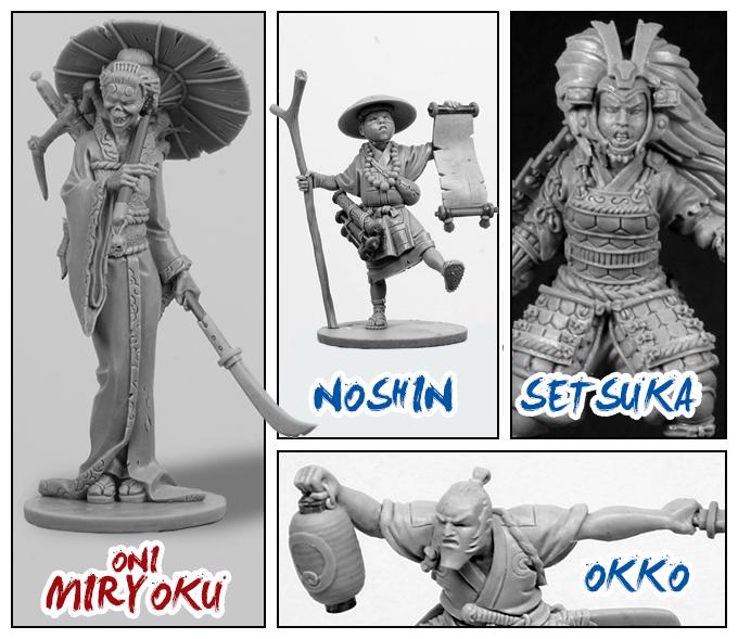 Okko Chronicle - Figurines