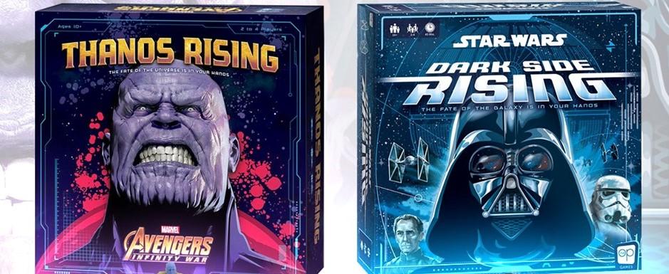 Brève Ludique : Thanos Rising et Dark Side Rising annoncé en VF !