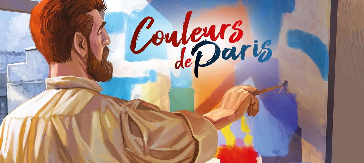 Couleurs de Paris – Laissez parler votre âme d'artiste