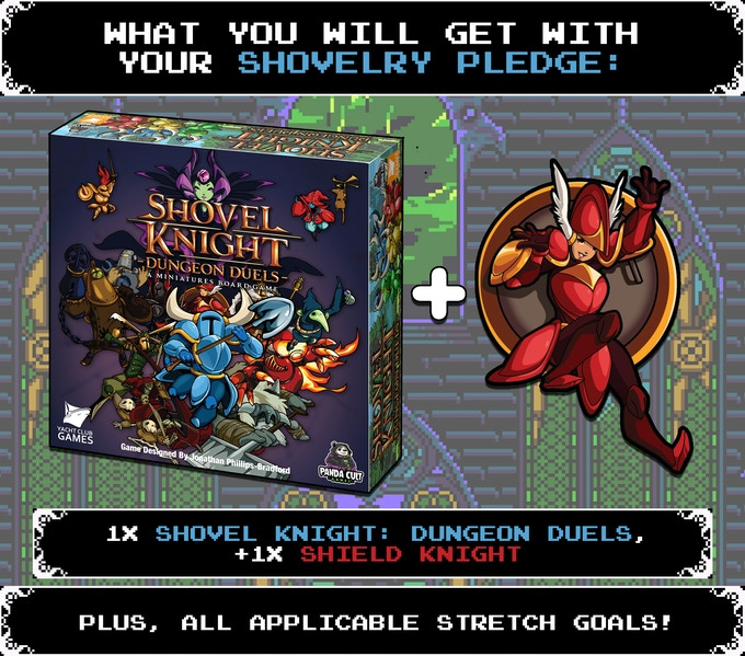 Shovel Knight: Dungeon Duels - bonus KS