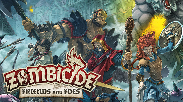 Zombicide – Friends and Foes. 30 millions d'zombies