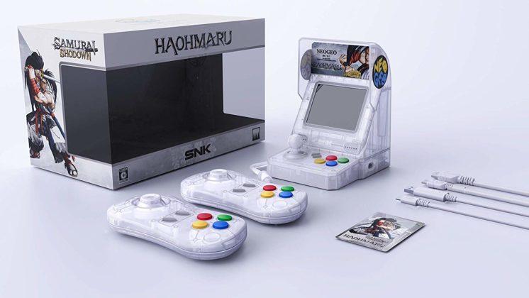 Neo Geo Mini Samurai Shodown - Blanche