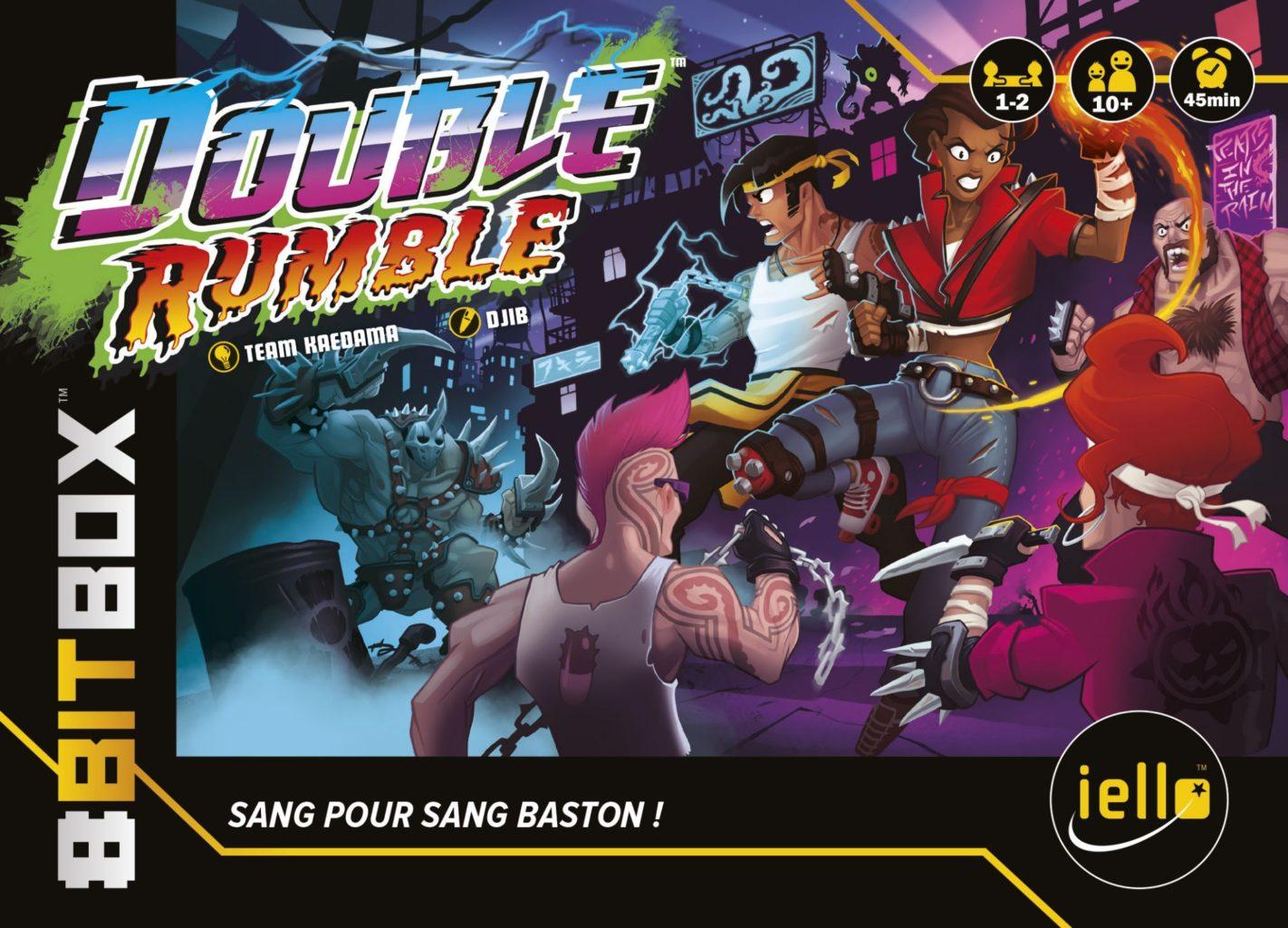 Double Rumble – Nouvelle cartouche pour la 8Bit Box !
