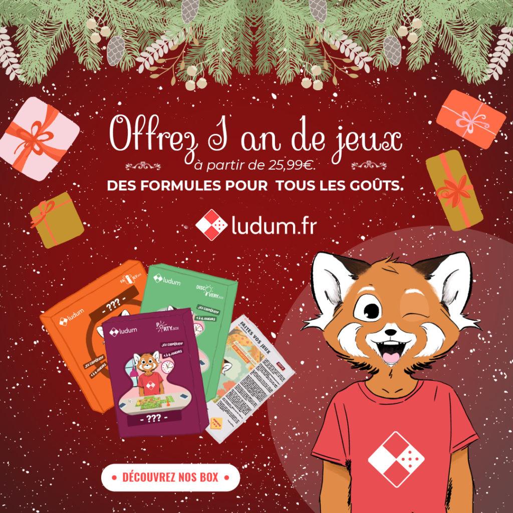 Ludum de Noël ! En panne sèche d'idées pour vos cadeaux ?
