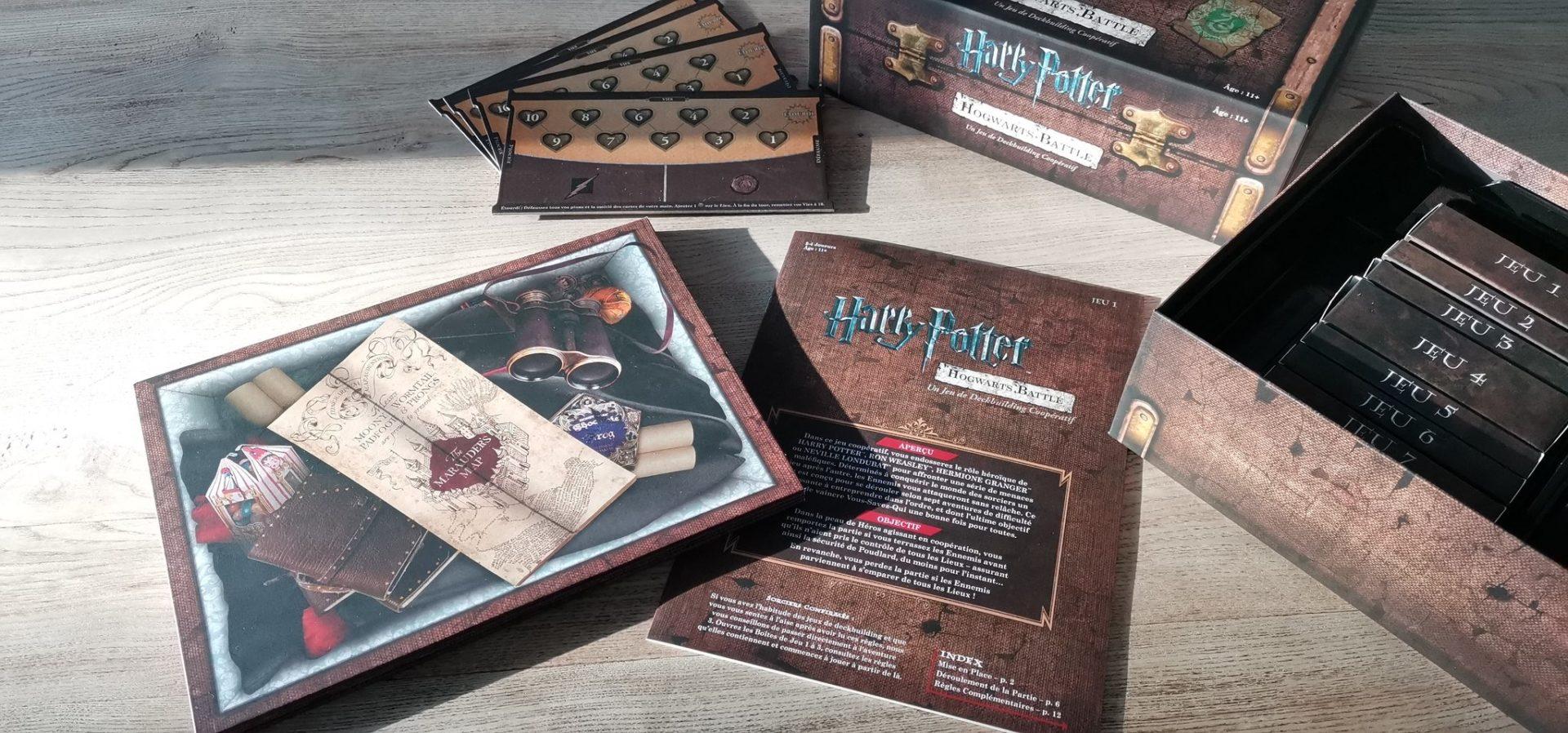 Hogwart's Battle – Le deck building magique arrive en français