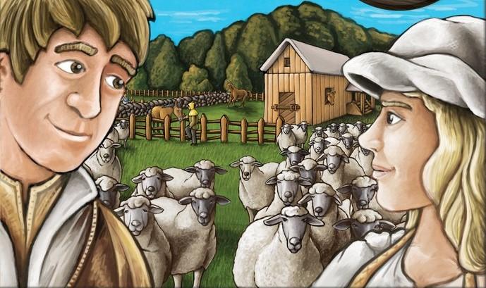Agricola – Les fermiers de la Lande – La Big Box ou tout simplement Agricola 2 joueurs