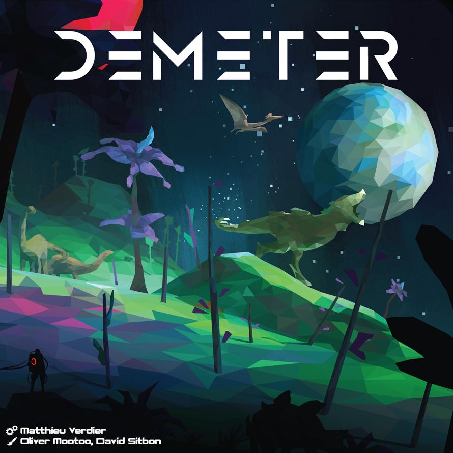Demeter  – Et sur les astéroïdes de Jupiter y'a des créatures !