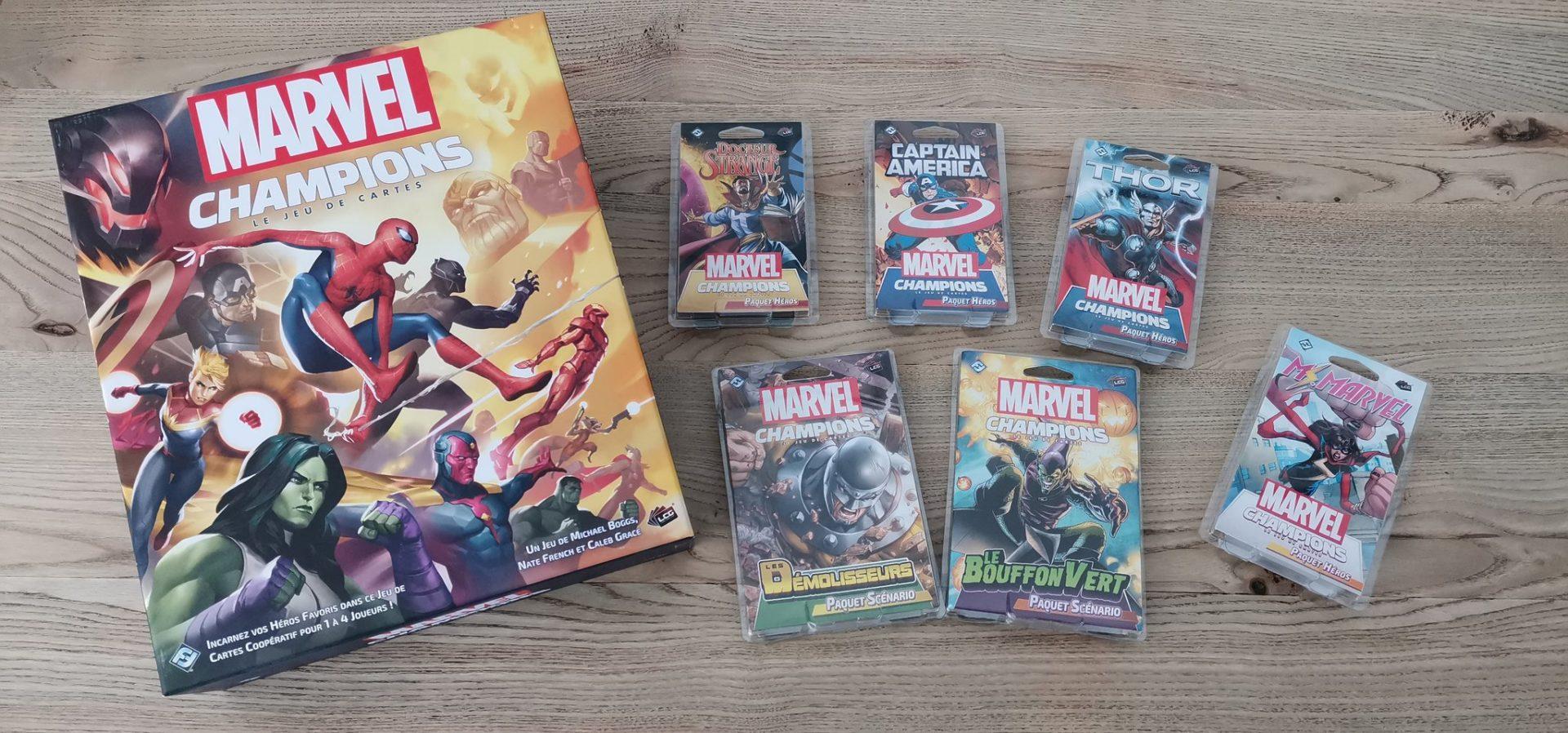 Marvel Champions – Plus de super-héros pour plus de super-plaisir !