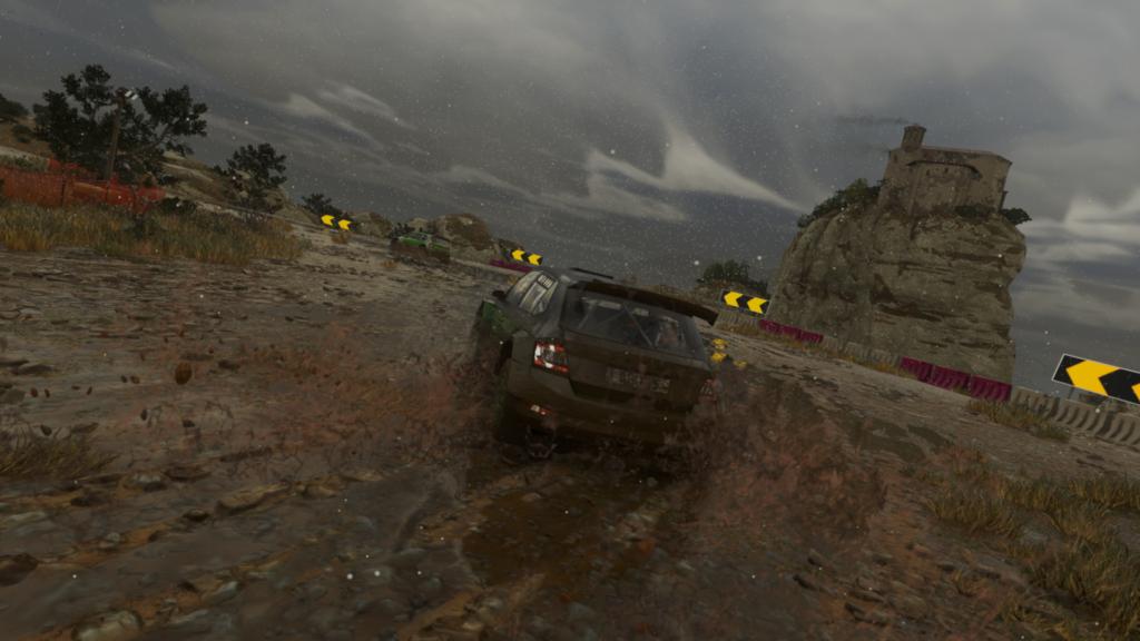 Drift dans la boue !