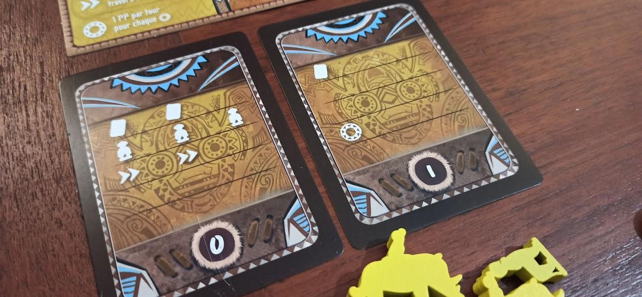 Cartes avec pictogrames