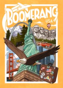 Boite de jeu Boomerang USA