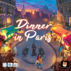 Dinner in Paris - La boite du jeu