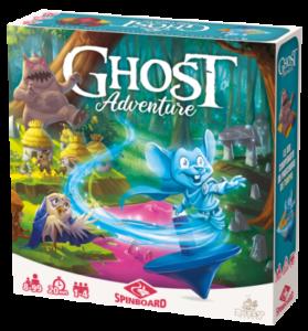 Boite du jeu Ghost Adventure