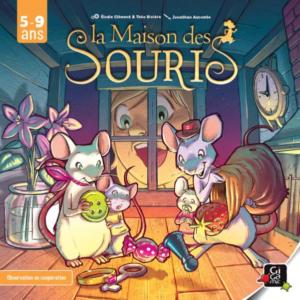 Boite du jeu de la Maison des souris