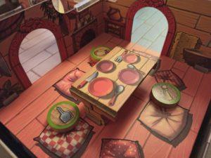 La maison des souris - Le salon