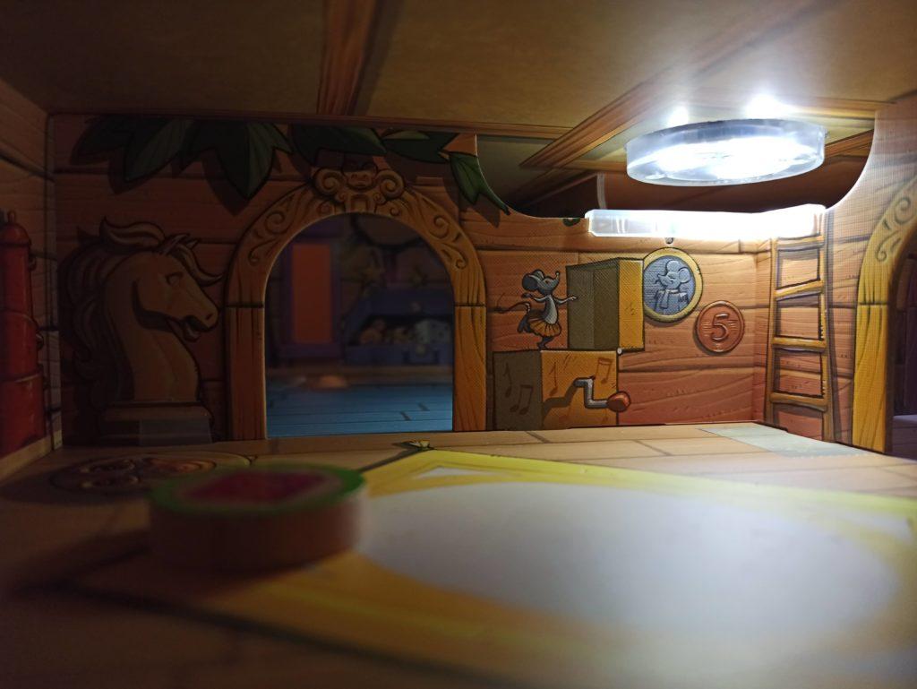 Intérieur de la maison des souris