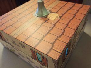Le toit de la maison des souris