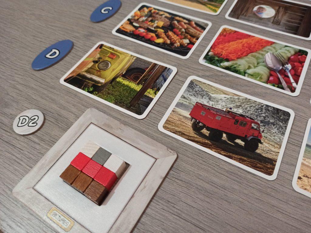 Représentation d'un camion avec des cubes dans Pictures