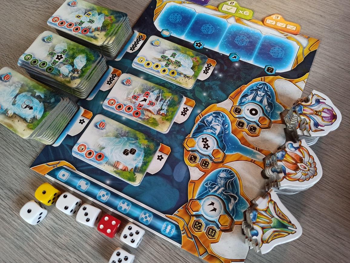 Plateau de jeu de Dunaïa