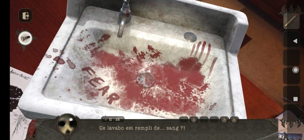 Un évier dans lequel on ne fera pas tout de suite la vaisselle !