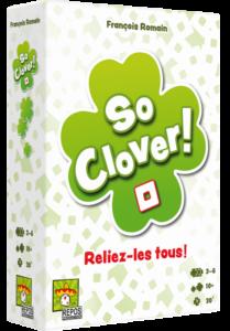 Boite du jeu So Clover!