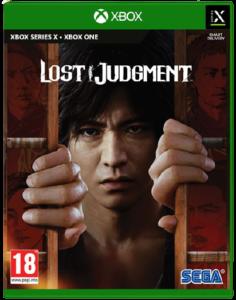 Jaquette de Lost Judgment